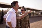 Rutte bersama tentara Belanda ©facebook.com